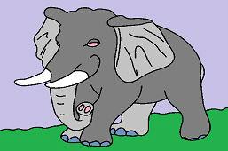Biely slon