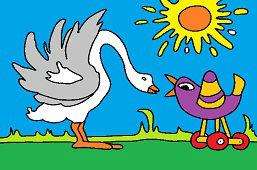 Hus a vtáčik