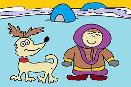 Eskimák a psík