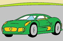 Športové auto 3.