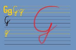 Píšeme písmeno G