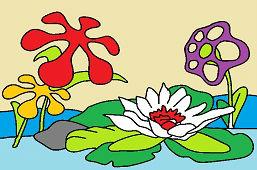 Vodné kvety