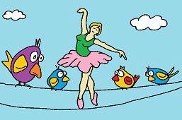Baletka na lane