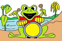 Žabka bubeník
