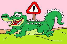 Pozor na krokodýly!
