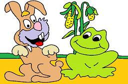Zajko a žabka