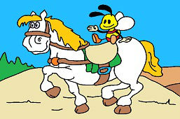 Kôň a včielka
