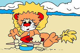Hra v piesku