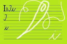 Píšeme písmeno – I