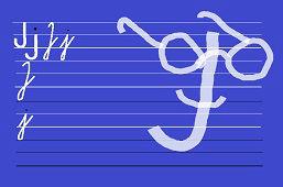 Píšeme písmeno – J