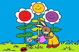 Zajko záhradkár
