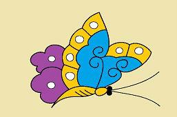 Motýľ záhradný