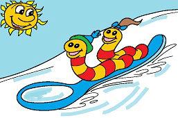 Sánkovačka na lyžici
