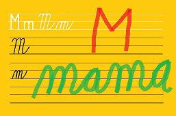 Píšeme písmeno – M