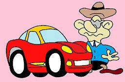 Šerifové auto