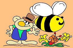 Rákosníček a veľká včela