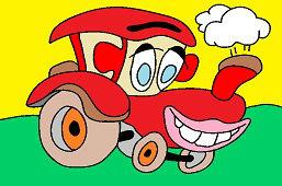 Usmiaty traktor