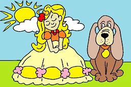 Princezná so psom