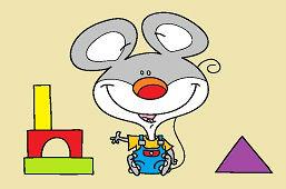 Myška a stavebnica