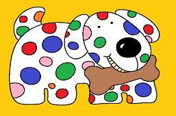Farebný psík