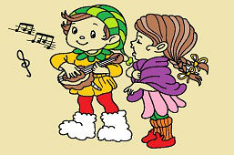 Spievajúce deti