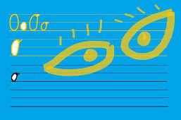 Píšeme písmeno – O