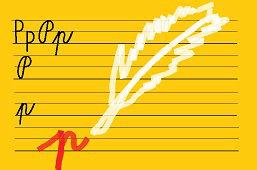 Píšeme písmeno – P