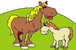 Kobyla a žriebä