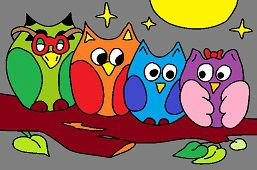 Štyri sovy