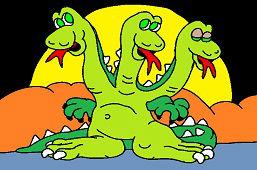 Trojhlavý drak