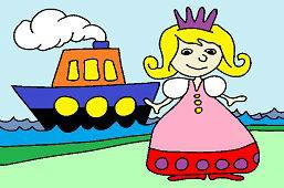 Princezná a loďka