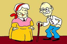 Babka s dedkom