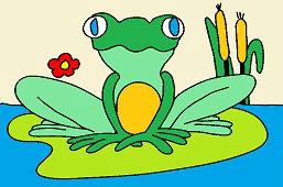 Žabka na lekne