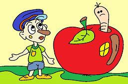 Domček z jablka