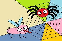 Pavúčik a muška