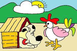 Sliepka a psík