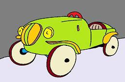 Staré závodné auto