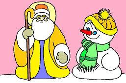 Dedo Mráz a snehuliak