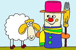 Ovečka a panáčik