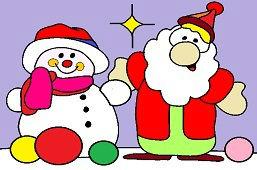 Snehuliak a Dedo Mráz