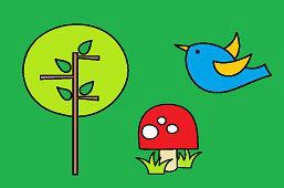 Vtáčik a strom