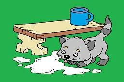 Rozliate mlieko