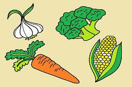 Zelenina zo záhrady
