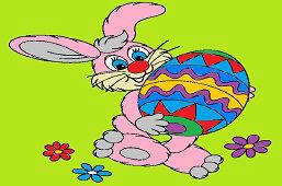 Zajac a veľké vajce