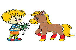 Chlapec a poník