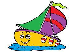 Plachetnica s vlajkou