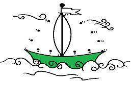 Plachetnica so zástavou