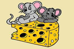 Myši a kúsok syra