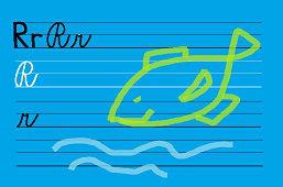 Píšeme písmeno – R