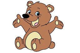 Veselý medvedík